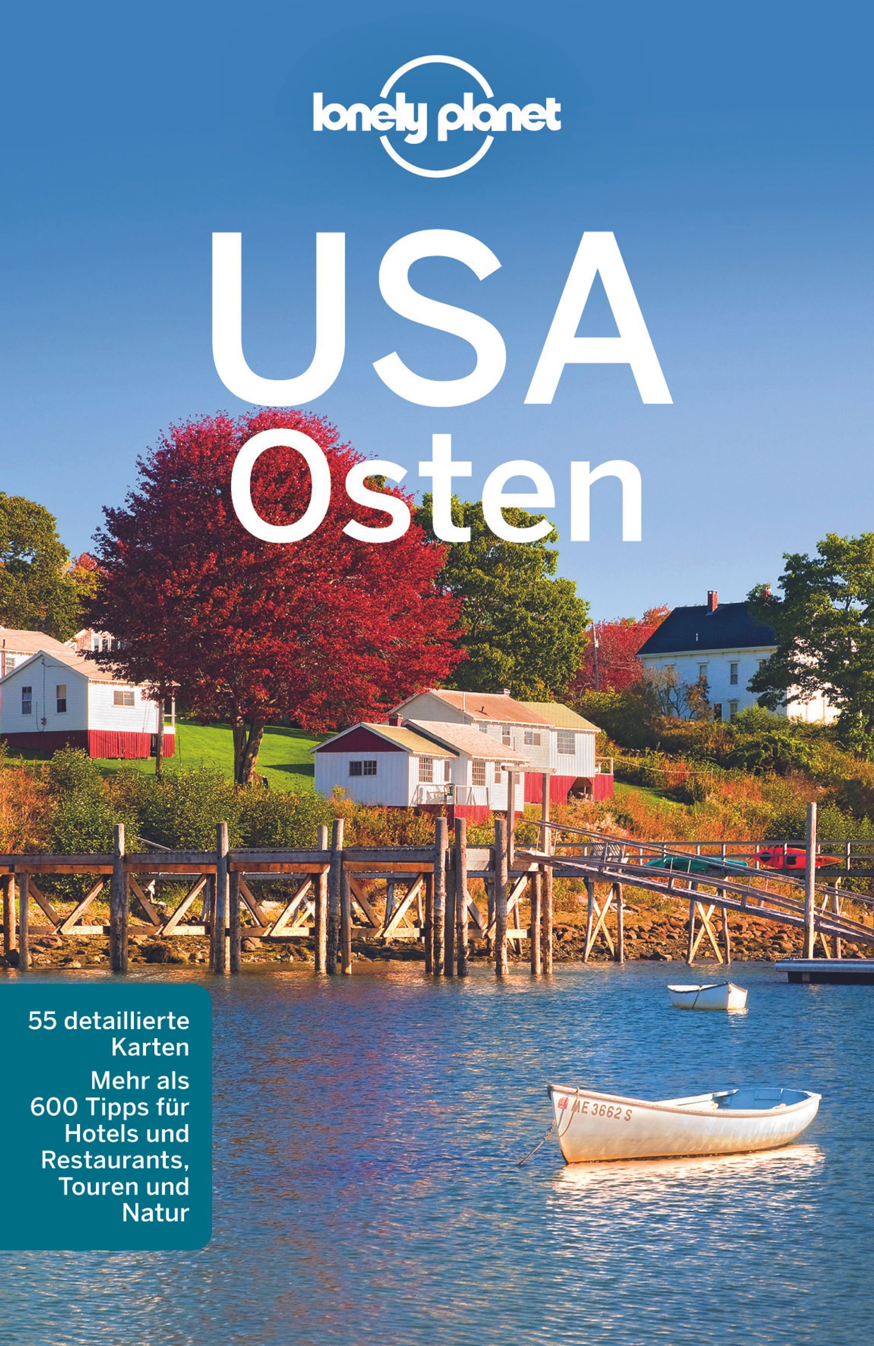 Lonely Planet USA Osten